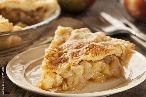 Cuadros en Lienzo Homemade Organic Apple Pie Dessert