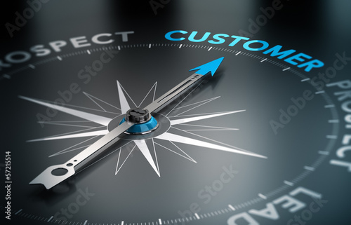 Fotografie, Obraz  Business - Customer Concept