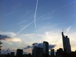 canvas print picture - skyline frankfurt