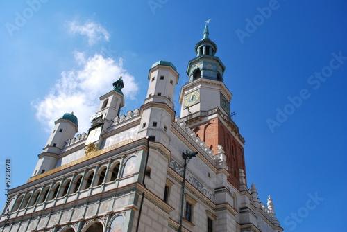 ratusz miejski w Poznaniu