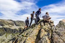 Amici In Cima Alla Montagna