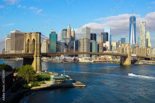 Brooklyn Bridge NYC Skyline