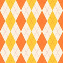 Seamless Classical Argyle Pattern.