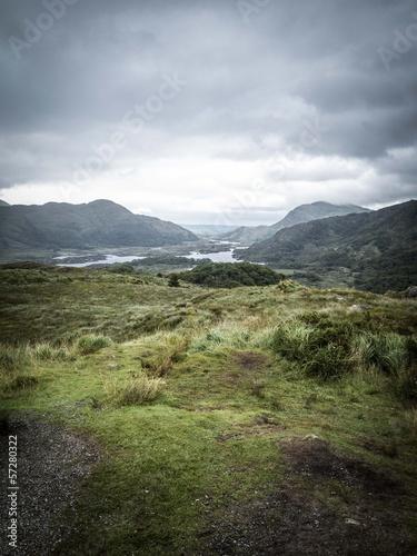 Ring of Kerry - Queen's view - Ireland Poster