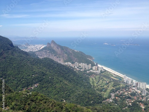 Poster Afrique du Sud Rio de Janeiro