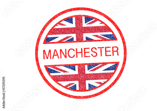 MANCHESTER Rubber Stamp
