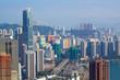 View of Downtown Kowloon Hongkong from Tsuen Wan
