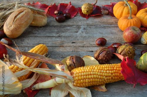 Canvas Prints Autumn Erntedank