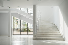 Interior Of A Building With Wh...