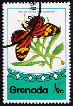 Postage Stamp Grenada 1975 Tro...