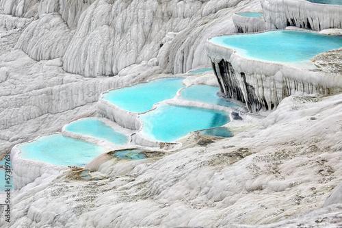 Fotografia  .Travertine pools