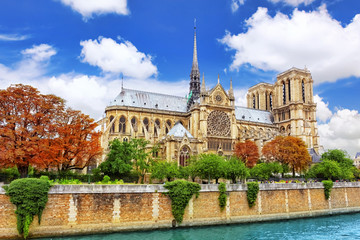 Notre Dame de Paris Cathedral.Paris. France.