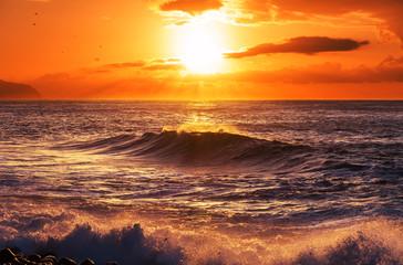 Obraz na PlexiSea sunset