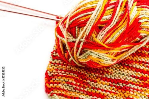 Foto op Aluminium Afrika Knitting