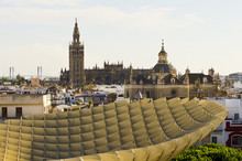 Parasol On The Sevilla City.
