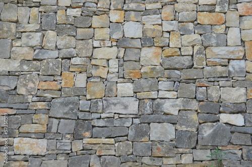 Ściana, tekstura, kamienie - fototapety na wymiar