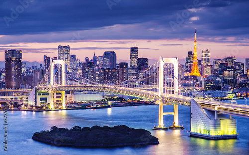 Obraz Zatoka Tokio - fototapety do salonu