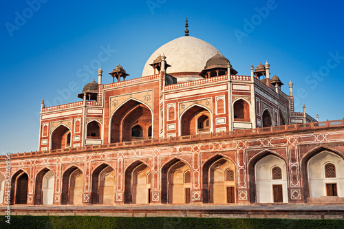 Foto auf Leinwand Delhi Humayuns Tomb