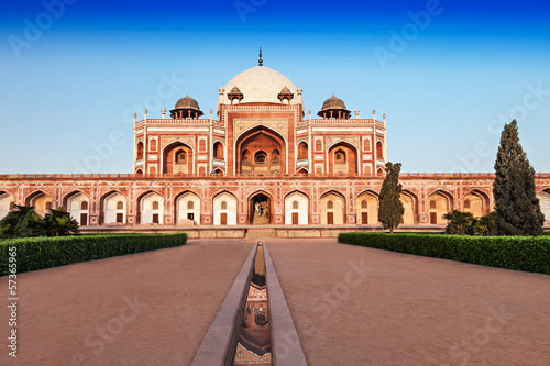 Canvas Prints Delhi Humayuns Tomb