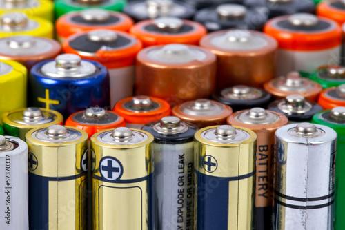 Obraz na plátně Batteries