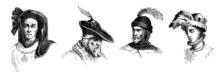 Medieval Head Dressing - Men - 2