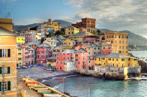 Fotografia Boccadasse, Genoa, Italy