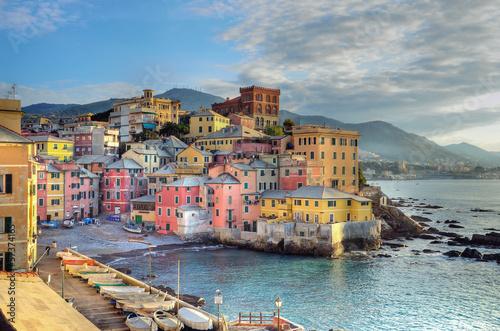 Fotografia  Boccadasse, Genua, Włochy