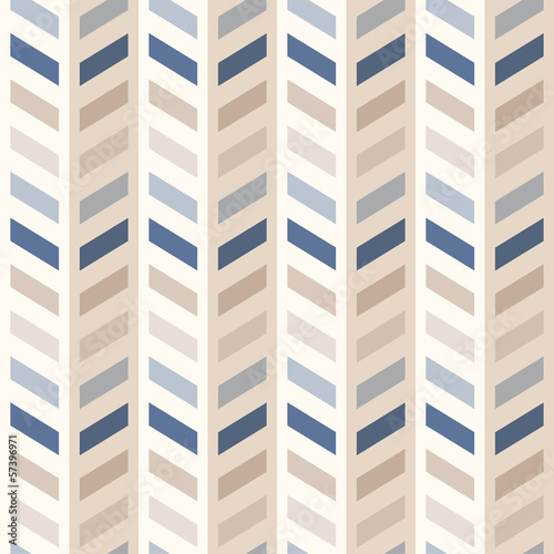 Photo sur Aluminium ZigZag Fashion abstract chevron pattern
