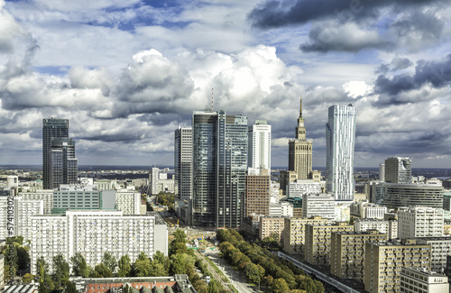 Warsaw downtown #57410302