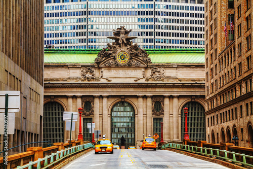 Papiers peints New York Grand Central Terminal viaduc in New York