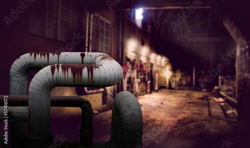 Foto Dark alley