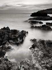 Obraz na Plexi Czarno-Biały Monochrome seascape