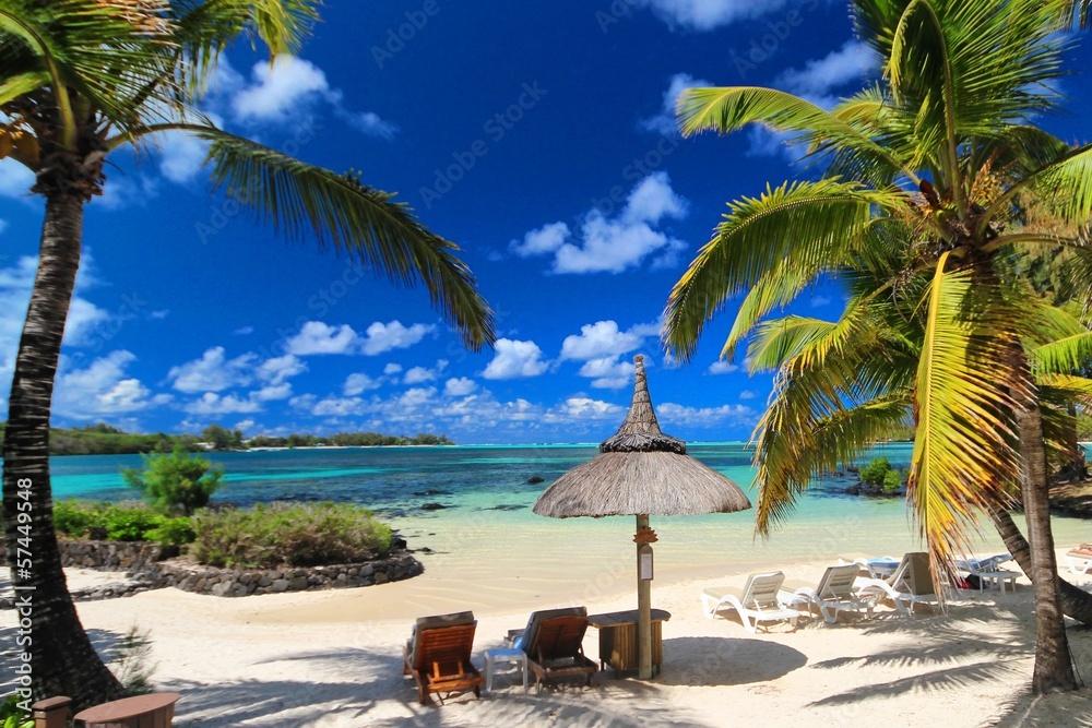 Fototapeta Mauritius