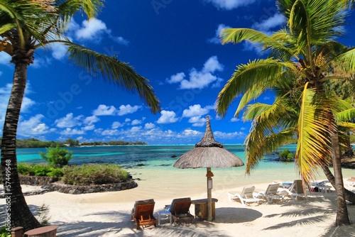 Türaufkleber Afrika Mauritius