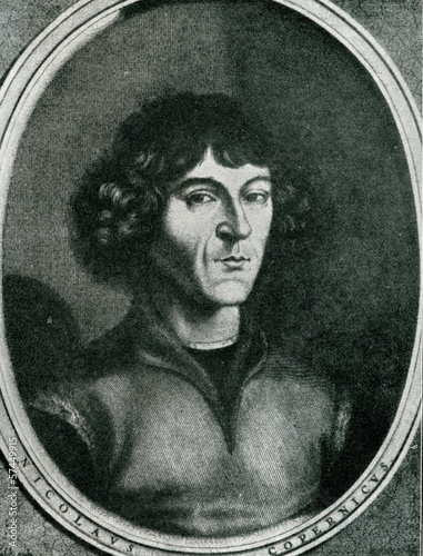 Nicolaus Copernicus by Jeremias Falck