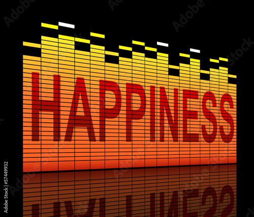 Photo  Happiness concept.