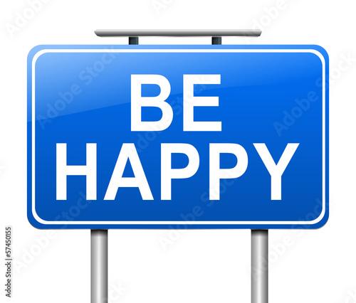 Photo  Be happy.