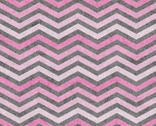 Pink And Gray Zigzag Textured Fabric Background