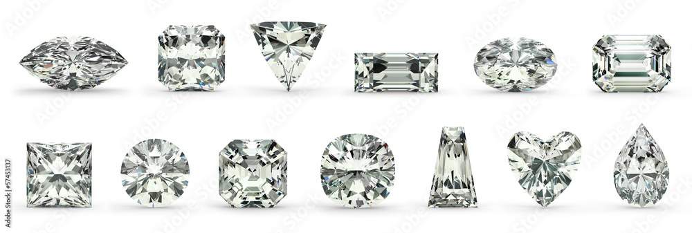 Fototapeta Diamond Cuts