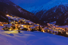 Mountains Ski Resort Solden Au...