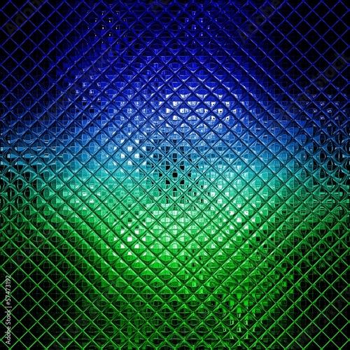 niebieska-i-zielona-mozaika