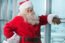 Santa At Airport