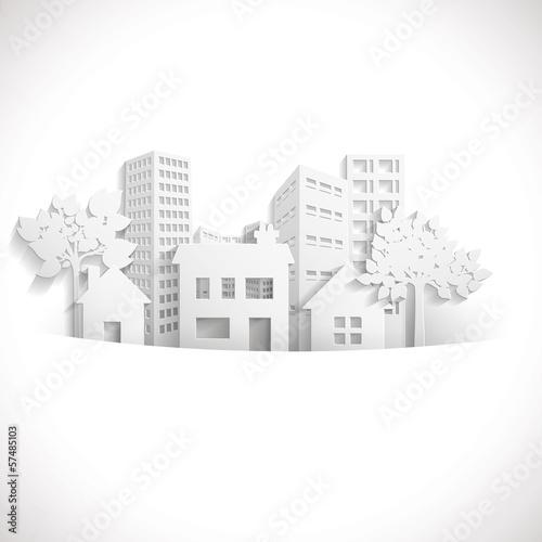 Fotografia, Obraz  Paper Town