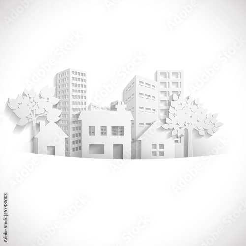 Obraz na plátne  Paper Town