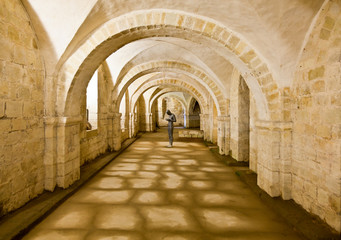 FototapetaWinchester Cathedral crypt