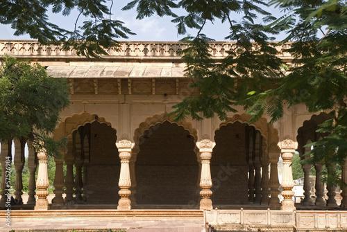 Cadres-photo bureau Monument Water palace, Deeg, Rajasthan, India