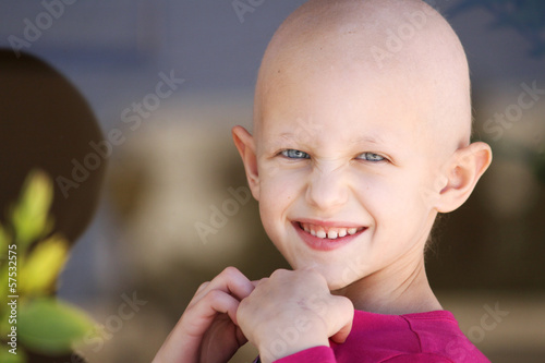 Fotografie, Obraz  cancer child