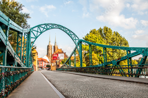 Autumn in the city of Wroclaw