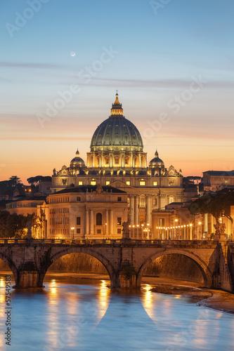 Poster Rome Basilique Saint-Pierre Vatican Rome