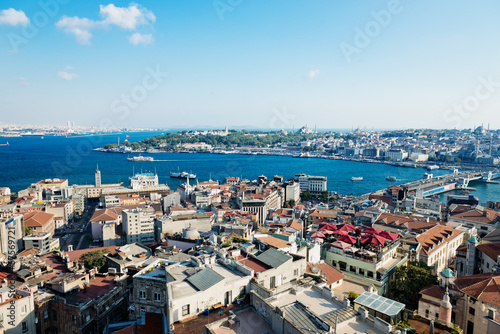 Poster Istanbul View from Galata tower